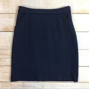 Boden thick cotton knit skirt w/ pockets US 2
